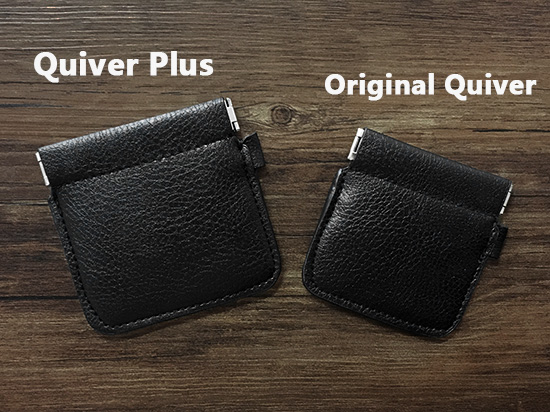 VDR Quiver Plus By Kelvin Chow (Gimmicks And Online Instructions) Close-up Magic Trick /professional/ Amazing,Genuine Leather