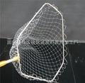Fabricants vente directe en acier inoxydable Triangle pliant tête de filet d'atterrissage 40 50 pliable Dyneema tête de filet d'atterrissage pêche G|Projecteurs| |  -