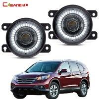 2 sztuk światło przeciwmgielne samochodu montaż oczy anioła LED światło do jazdy dziennej DRL 30W H11 12V dla Honda CR-V CRV 2.4L L4 2012 2013 2014