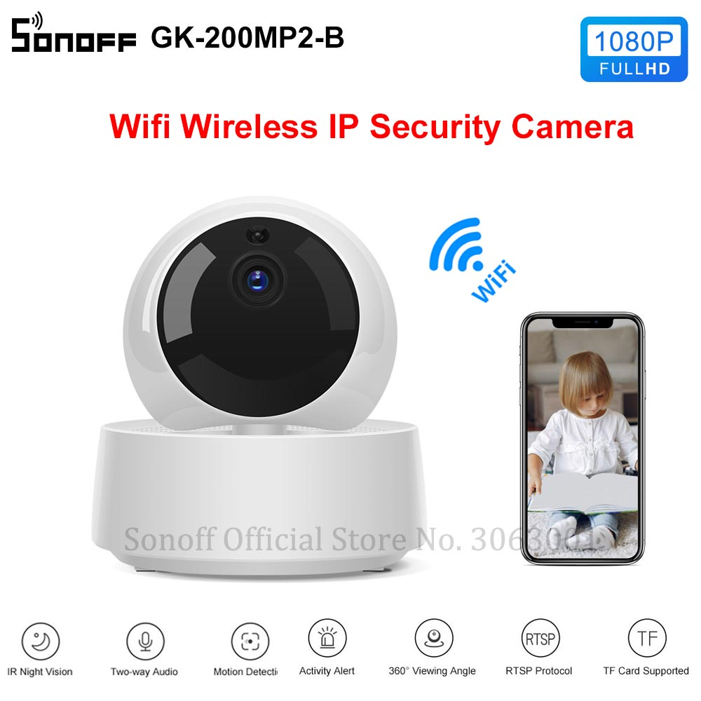 Mini Smart Wireless Baby Monitor Camera With Night Vision For child Security With Activity Alert 5