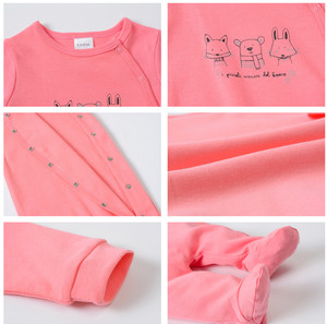 Image 5 - 2020 新年春長袖ソフト服のための 3 個コットンロンパース新生児男の子 0 12 メートル衣装パジャマ