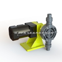 GW Mechanical Diaphragm Metering Pump 304 Stainless Steel PVC Anticorrosive Dosing Pump Flocculant Diaphragm Metering Pump