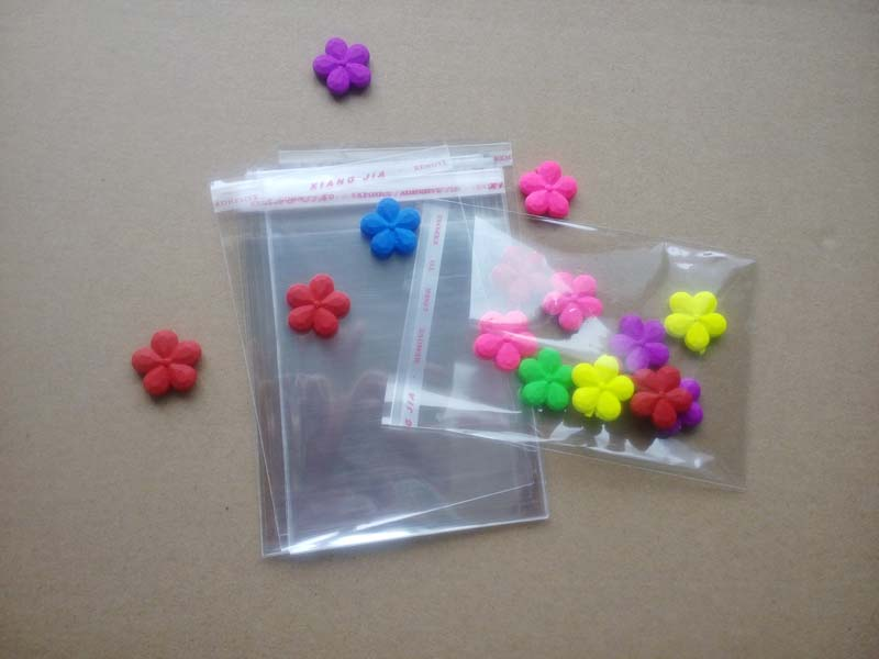 1000PCS Clear Resealable Cellophane/BOPP/Poly Bags Transparent Opp Bag Packing Plastic Bags Self Adhesive Seal for gift