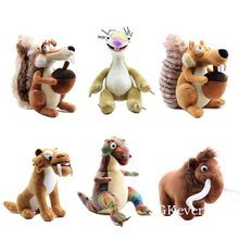 Peluche de 20 cm pour femme et enfant, jouet en forme d'écureuil, éléphant, Lion, cadeau d'anniversaire