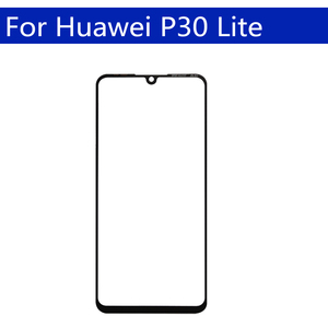 Image 3 - 10Pcs\lot For Huawei P30 Lite \Nova 4E Touch Screen Front Outer Glass Lens For P30 LCD Glass Replacement
