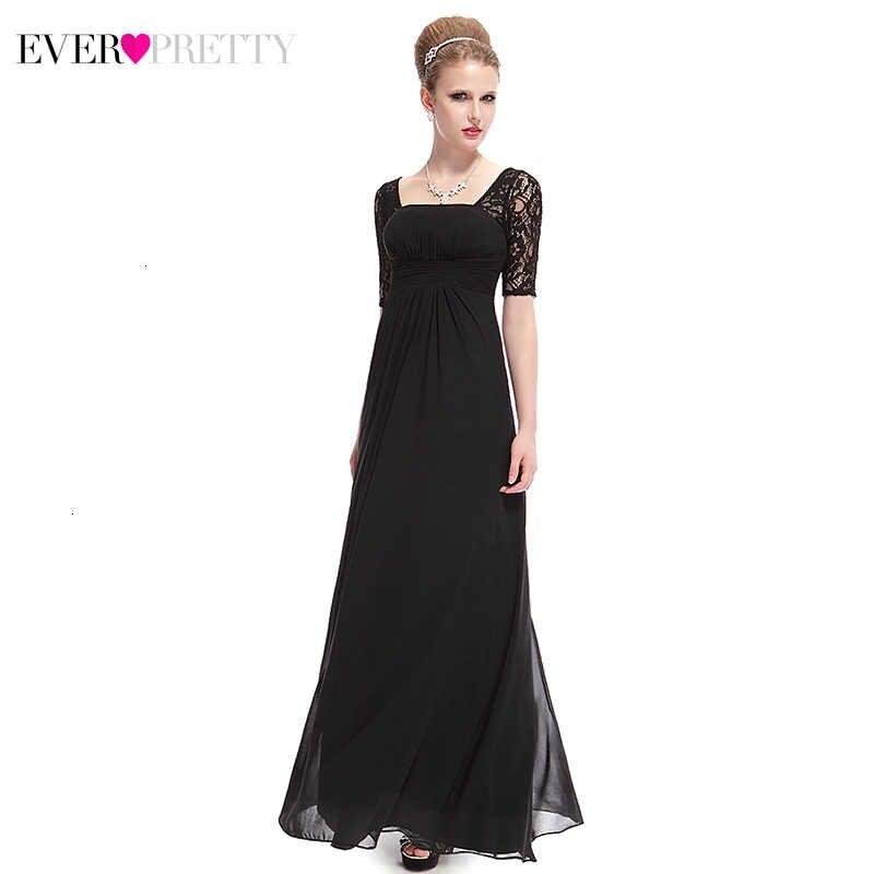 Elegant ชุดเจ้าสาว Pretty EP08038 A-Line ครึ่งแขน Farsali ชีฟองอาหารค่ำชุด Vestidos De Madrina