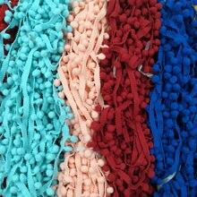 4 ярда Одежда Швейные аксессуары помпонами pom с помпоном кисточкой