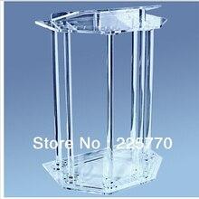 Прозрачная акриловая Платформа высокого качества, современный дизайн, дешевый акриловый подиум из оргстекла
