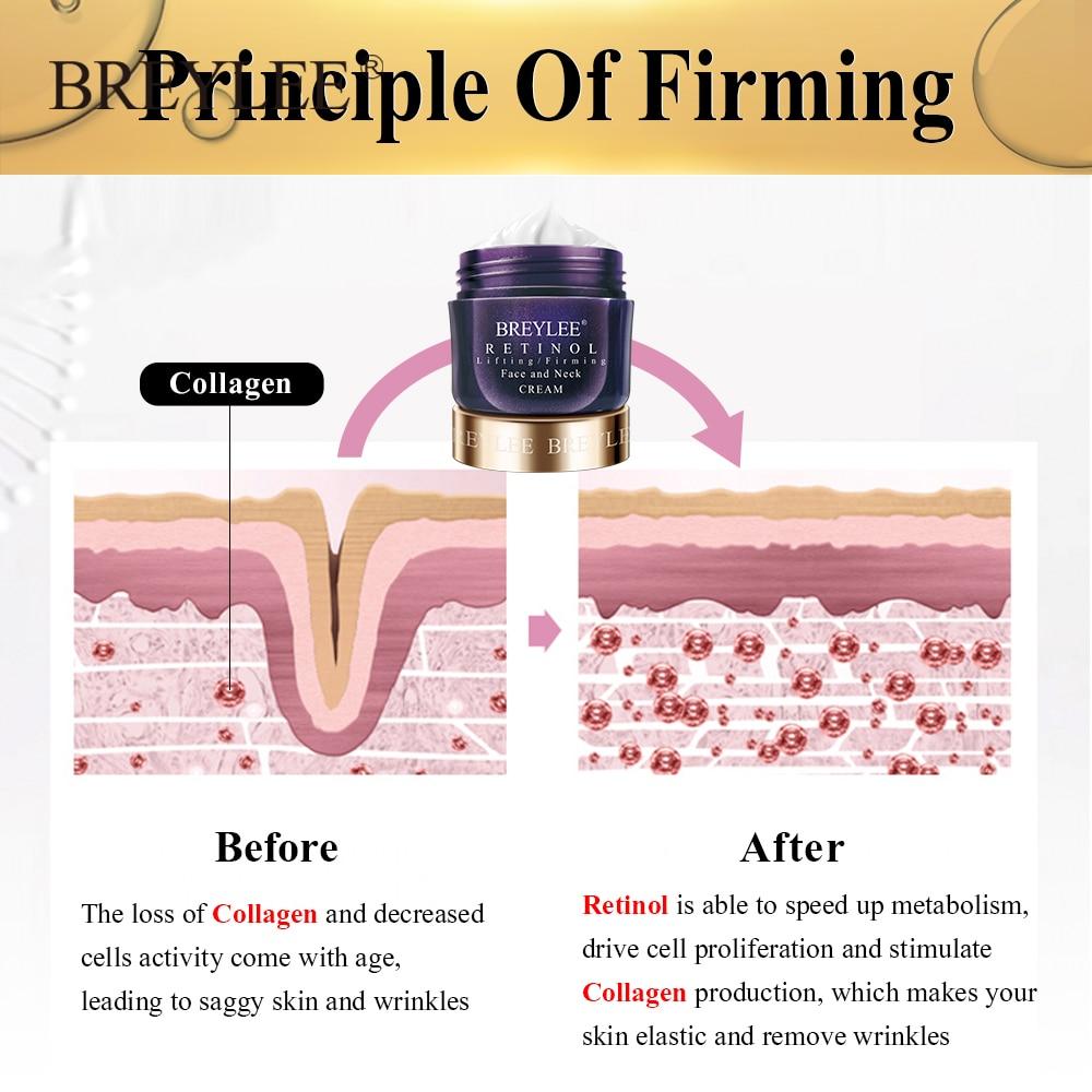 BREYLEE Anti-Wrinkles Cream Firming Lifting Face Neck Anti-Aging Remove Fine Lines Night Day Moisturizing Whitening Skin Care-4