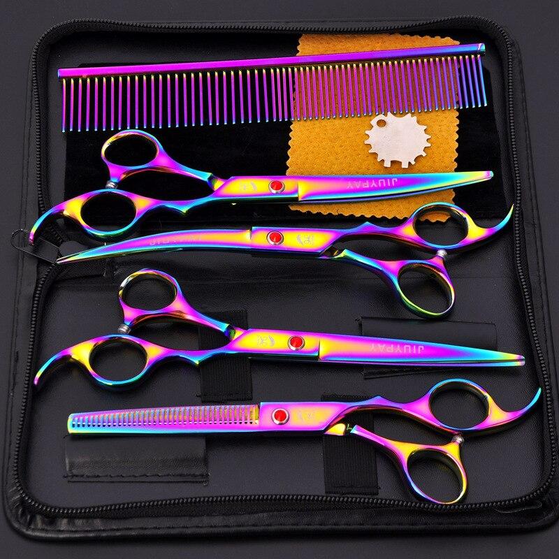 Sharp Blade 7.0 Inch Hairdressing Scissors Professional Hair Scissor Set Hair Cutting Scissors Barber Shears Cut Salon Razor