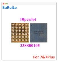 Baruile 10 Chiếc Dành Cho iPhone 6S 7 Plus Sửa Chữa U3101 U3500 Chính IC Âm Thanh Thay Thế 338S00105 BGA Chip Cố Định các Bộ Phận