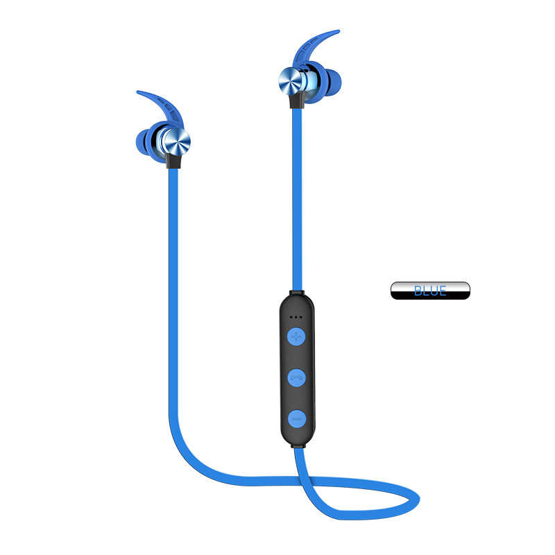 1pcs Outdoor Waterproof Sports Anti-sweat Noise Reduction Earphone Stereo Sound TF Card For Bluetooth 5.0+EDR Headset
