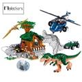 Mailackers Jurassic Dinosaurier Welt Tierfiguren Dschungel krieg Technische Transport Lkw Bausteine Ziegel Educaion KId Spielzeug
