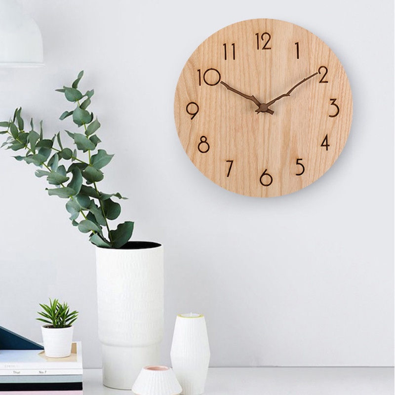 10/12 Inch Walnut Wall Clock Pointer Accessories DIY Hour Hand Minute Hand Second Hand Parts Mecanisme Horloge