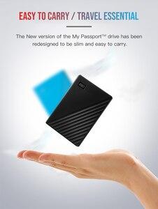Image 5 - Western Digital My Passport hdd 2.5 USB 3.0 SATA 휴대용 HDD 스토리지 메모리 장치 외장형 하드 디스크 2 테라바이트 4 테라바이트