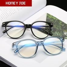 Optical-Glasses-Frame Eyeglasses Computer-Gaming-Glasses Transparent Anti-Blue Women
