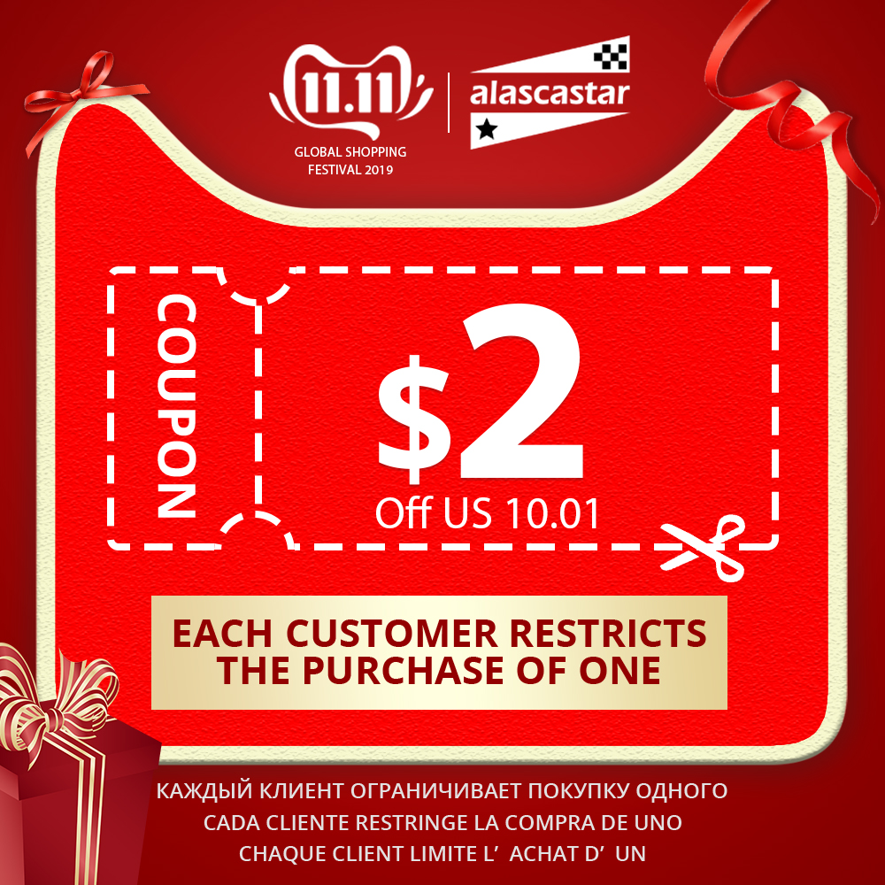 Limited Coupon US $2 Available for 11.11 (One customer only can buy 1 piece ; release 20 pieces of coupons every day)