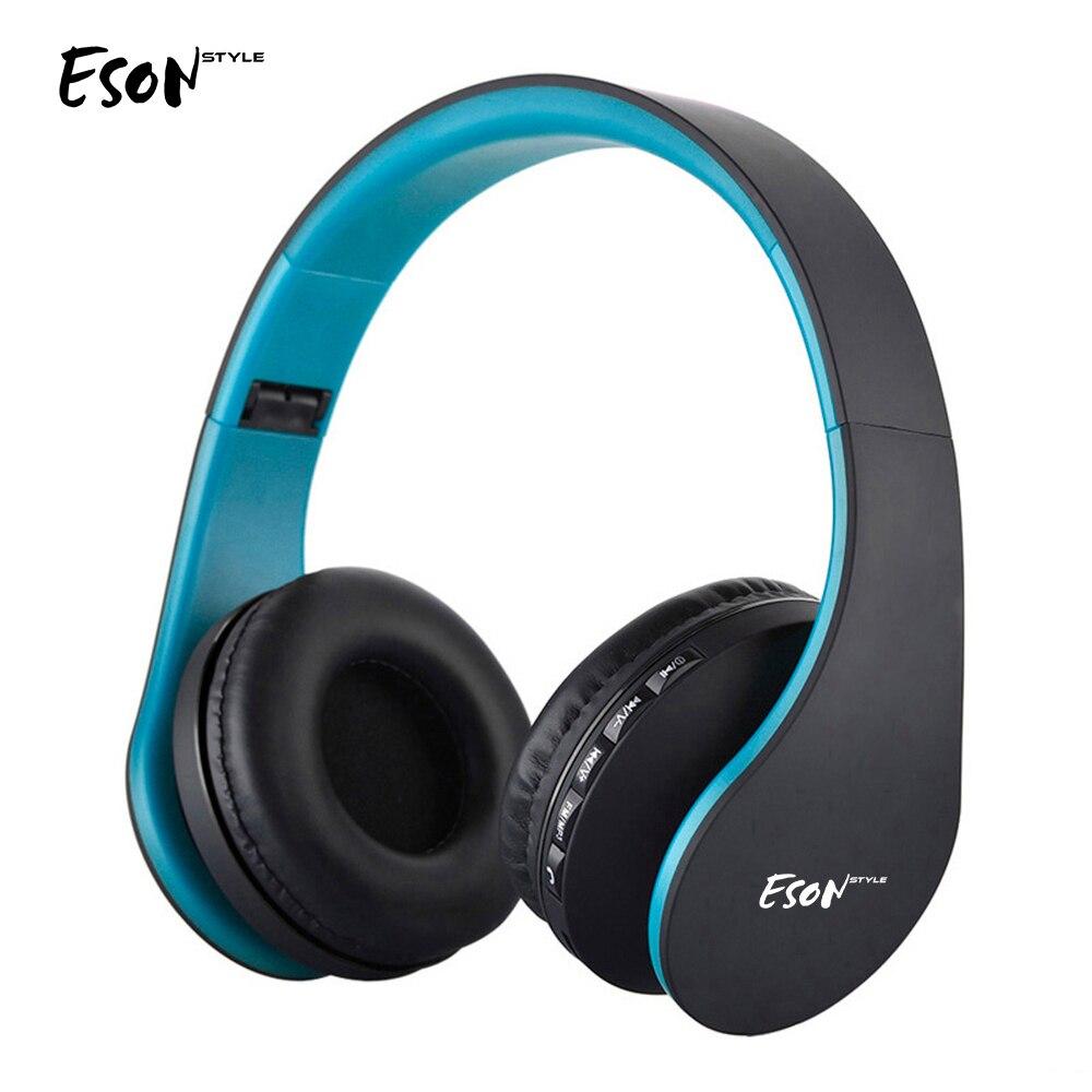 Eson Style Bluetooth casque sur-oreille stéréo sans fil casque antibruit casque pour Smartphone