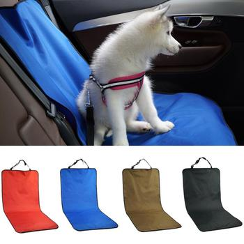 Waterproof Pet Carriers Car Seat Cover Dogs Cats Puppy Seat Mat Blanket Blanket Travel Accessories Auto Seat Covers Cushion Mat image