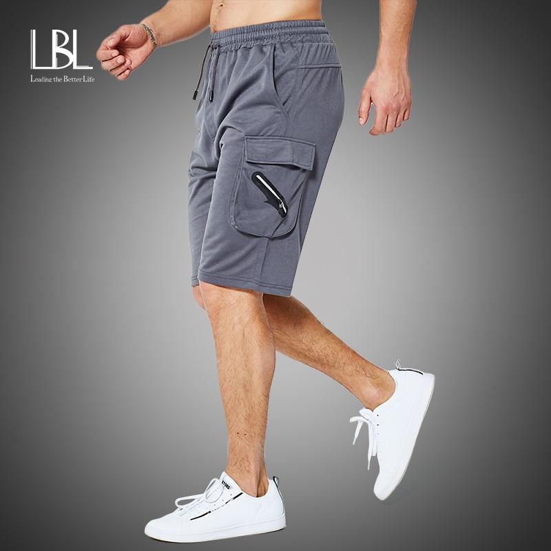 Cargo Shorts Men Summer Hot Sale Cotton Casual Men Short Pants Brand Clothing Zipper Pocket Comfortable Solid Men Cargo Shorts