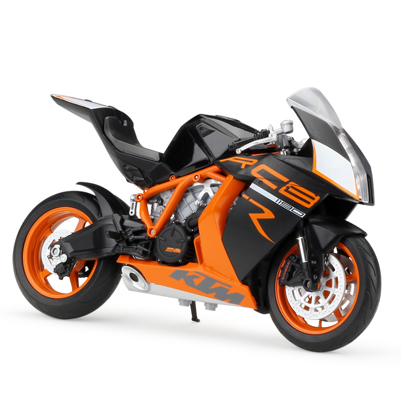 WELLY 1:10 KTM 1190 RC8 R Super Motor Diecast Model Bikes Motorcycle Boy Toys