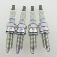 4PCS 18855 10080 SILZKR6B 11 Auto Iridium Zündkerzen für Hyundai i20 i30 CW ix20 Kia Carens III SILZKR6B11 1885510080