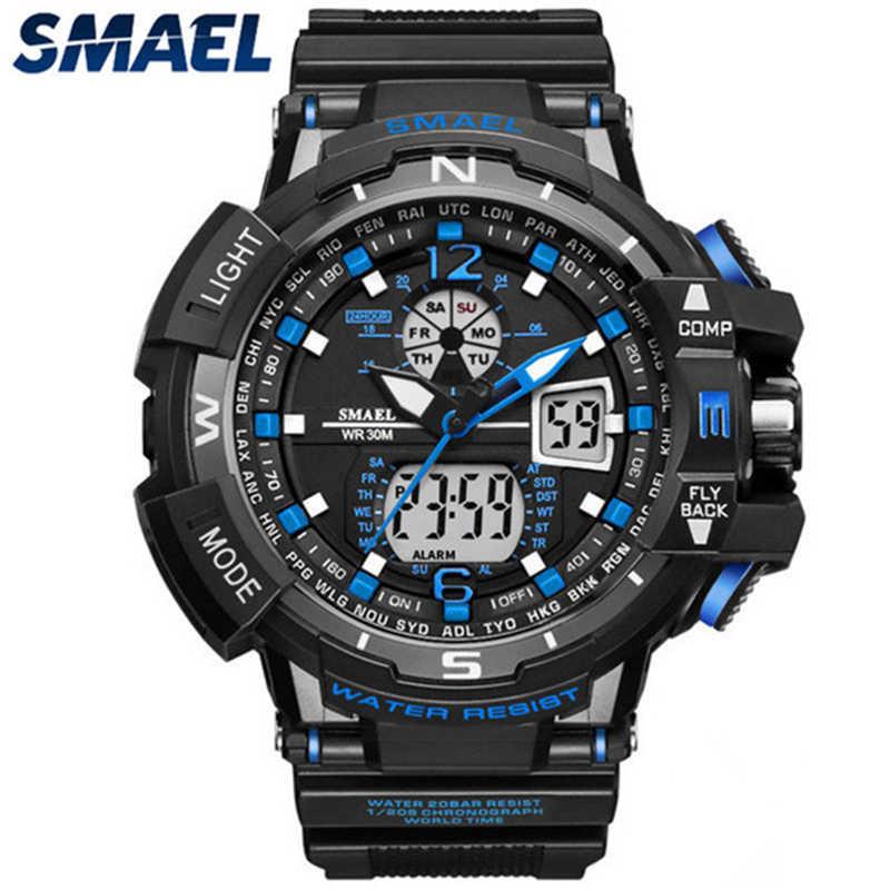 Quratz SMAEL Mens Relógios Top Marca de Luxo Militar Relógio Do Esporte Dos Homens Casuais À Prova D' Água Digitais LEVOU Relógio De Pulso Relogio masculino
