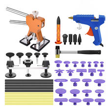PDR Tool Sets Auto reparatie tools Body Dent Lifter Remover Reparatie Puller Kit Tools Slide hammer Zuignap auto kits voor hagel damag(China)