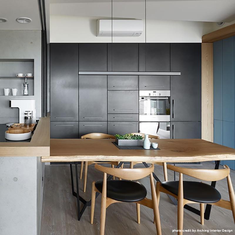 Modern Denmar Designer Art Pendant Iights Woodden White Office Study Pendant Lamp Hanging Lamp Restaurant Kitchen Lamp Lustre