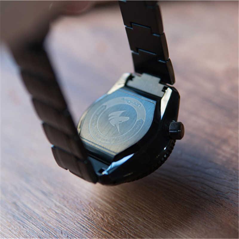 先行販売proxima男性ビジネスフォーマル腕時計サファイアガラス 300 メートル防水ステンレス鋼NH35 自動メンズスポーツ時計ホーネット