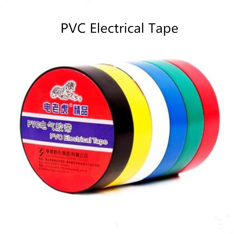 2 PCS Elétrica Fita Isolante Fita Adesiva usada para a engenharia industrial de vedação de protecção