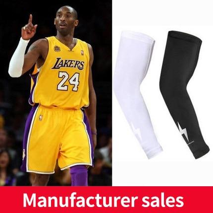 High Elastic Basketball Arm Sleeves Armband Soccer Volleyball running socks warm  training sports protective equipment