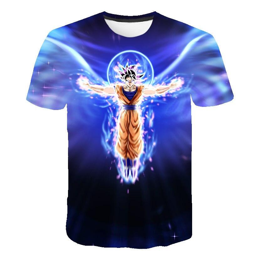 T-shirt Men/women 3d T Shirt Men Summer Star Wars T Shirt 3d Anime Print Dragon Ball Z Short Sleeve T Shirt Slim Fit Shirts Male