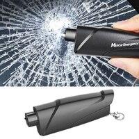 Sicherheit Hammer Auto Notfall Rescue Kit Schlüssel Kette Messer Life Saving Sitz Gürtel Cutter Fenster Breaker Glas Notfall Hammer