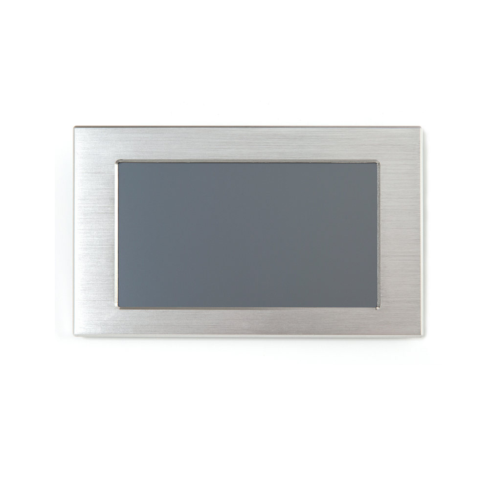 7 Inch HMI Smart TFT LCD Module With Controller + Program + Touch + UART Serial Interface With Matel Frame