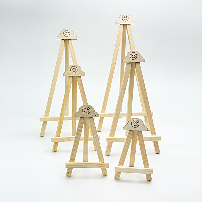 Mini Easel Wooden Easel For Painting Mini Canvas Display Holder For Wedding Party Decoration Easel Stand Art Supplies For Artist