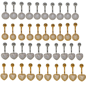 10pcs Belly Button Rings Surgi