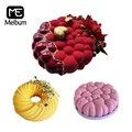 Аксессуары для украшения торта Meibum, 3 типа, силиконовые формы, инструменты для выпечки, мусс, Кондитерская сковорода, вечерние формы для десе...