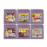 Cartão do console do cartucho do jogo de vídeo de 16 bits todos os in1 versão da língua chinesa para nintendo gbc