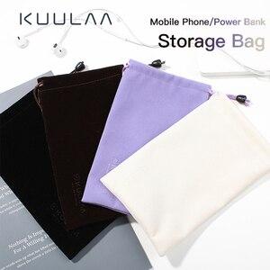 Чехол KUULAA Power Bank для iPhone, Samsung, Xiaomi, Huawei, водонепроницаемый чехол для хранения, мобильный телефон, аксессуары