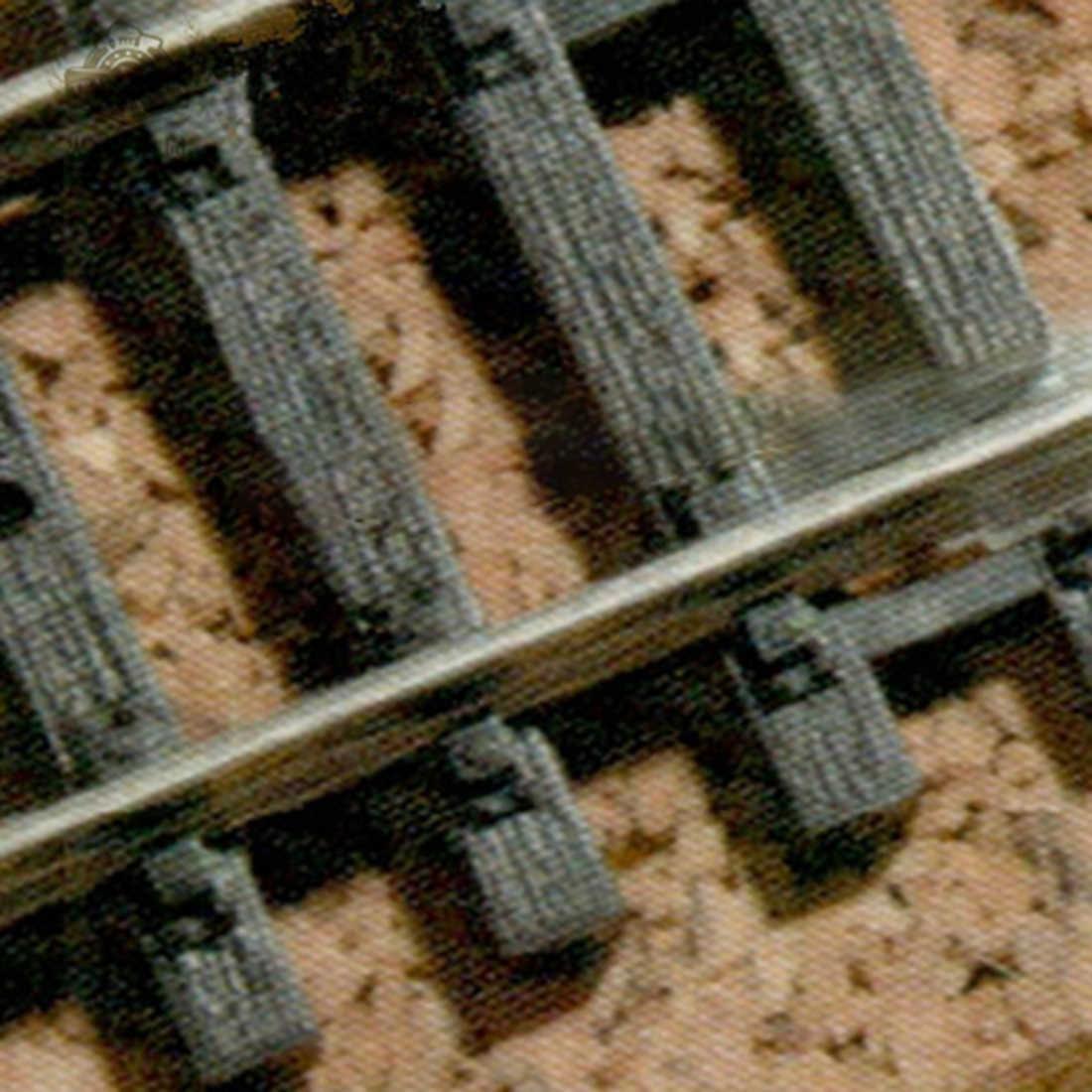 24 sztuk 1: 87 skala model pociągu utwór izolowane złącze do piaskownica stołowa Diy montaż Ho skala model pociągu akcesoria nowy