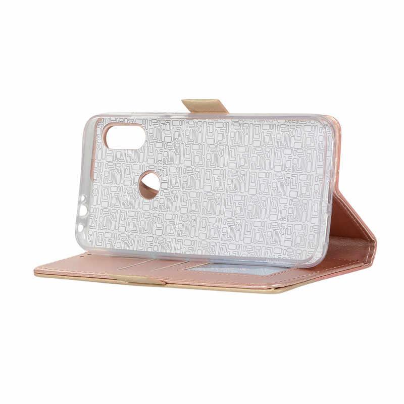 กระเป๋าสตางค์ซิปสำหรับXiaomi A3 Redmi K20 Pro 7Aหมายเหตุ 8 9 7 ลูกไม้หนังNote7proฝาครอบetuiกระเป๋าMujer Shell