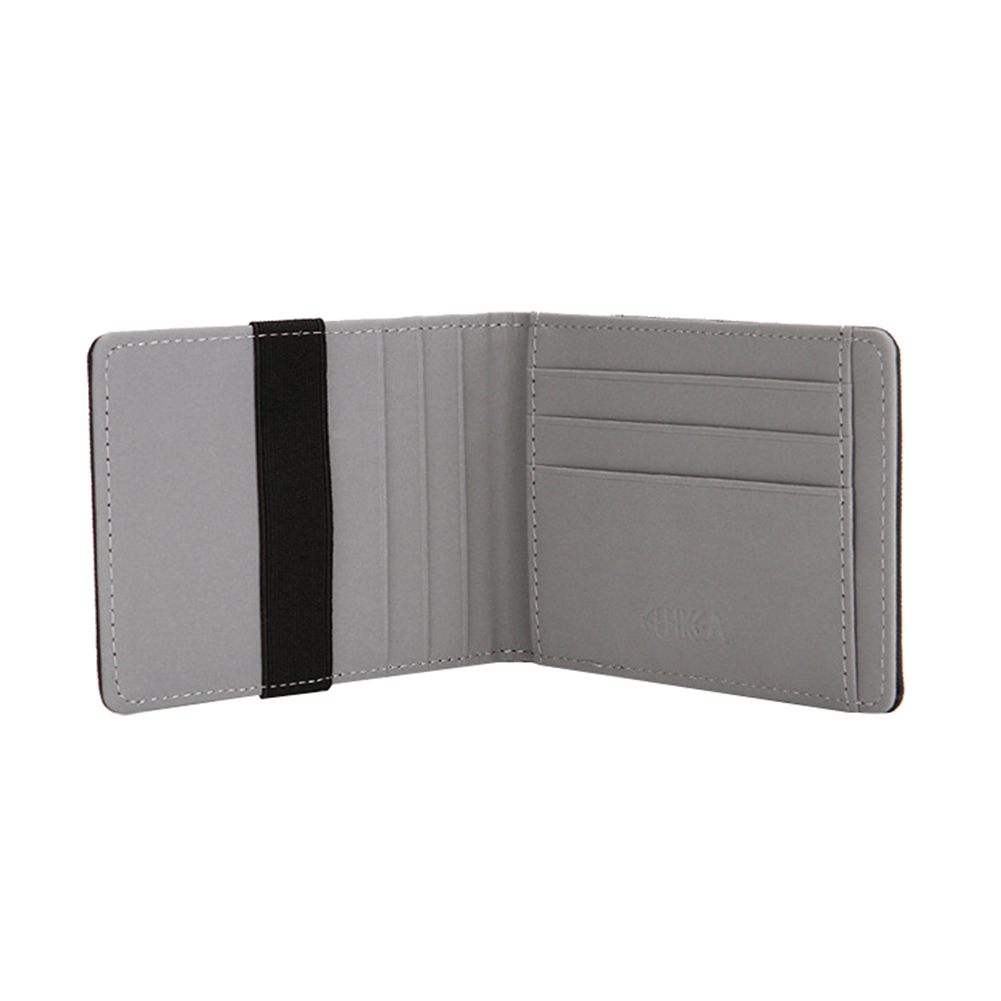 FAUX LEATHER CREDIT CARD HOLDER FOR NOTES AND CARDS