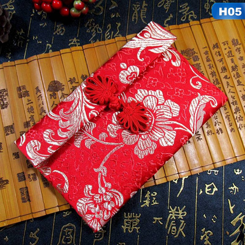 Tang Embroidery Red Envelope 2020 Creative Rat Year Million Red Bag Wedding New Year Coin Purse Brocade Red Pocket
