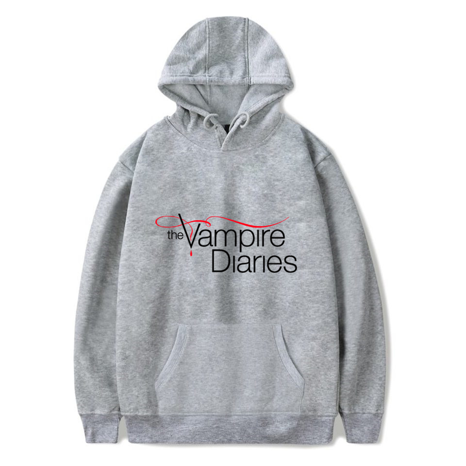 The Vampire Diaries Hoodies Women/mens Long Sleeve Hodies Pullovers Sweatshirts Hoodie Women Men Casual Hooded Clothes Unisex