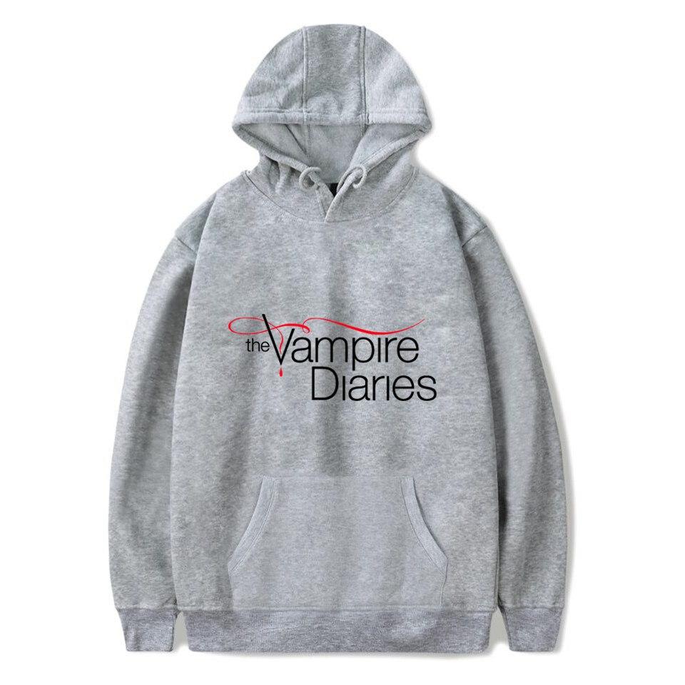 The Vampire Diaries Hoodies Women/mens Long Sleeve Hodies Pullovers Sweatshirts Hoodie Women Men Casual Hooded Clothes Unisex