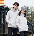 Xiaomi Новая дорожная куртка три в одном 90% утиный пух ветрозащитная непромокаемая съемная подкладка Пара моделей теплое пальто