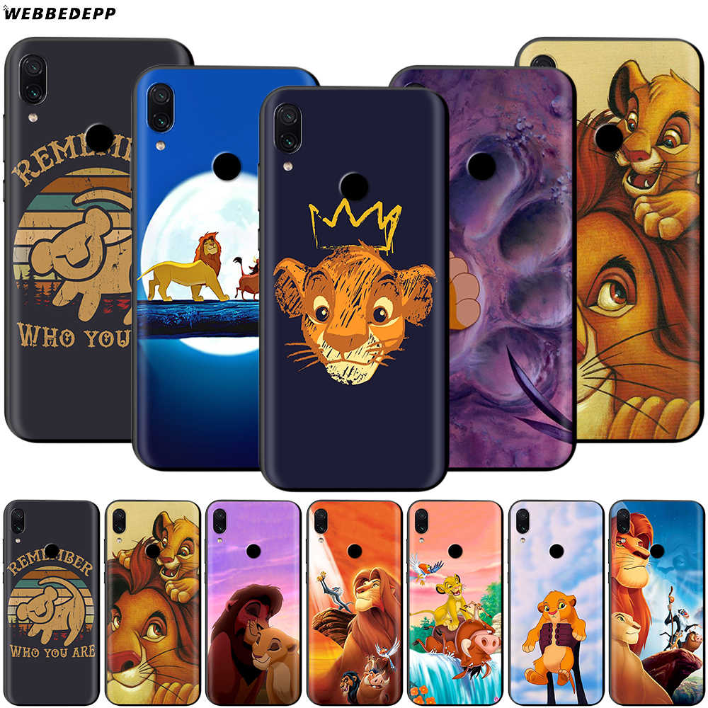 The Lion King Case untuk Xiaomi Redmi 4A 4X5 5A 6 6A 7 7A S2 Go K20 PRO PLUS Prime 8T