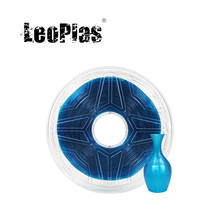 Filamento de TPU de goma azul claro suave Flexible de 1kg y 1,75mm para impresora 3D, suministros de impresión