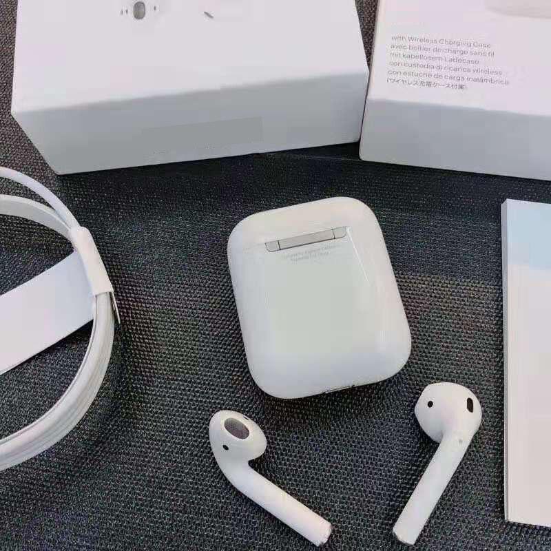 Copie superbe Sans Fil Ecouteur Earpods TWS Bluetooth 5.0 Casques pour iPhone Xs Max XR 7 8 Plus iPad MacBook Apple téléphone Bouchons D'oreilles